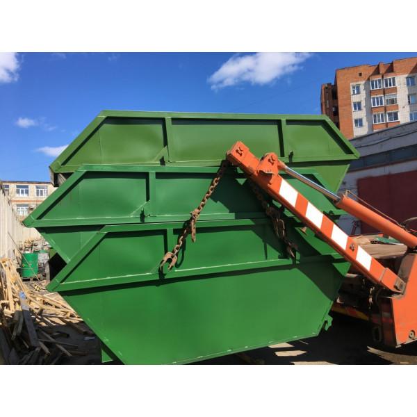 Бункер-накопитель для крупногабаритных отходов (КГО) 8м3