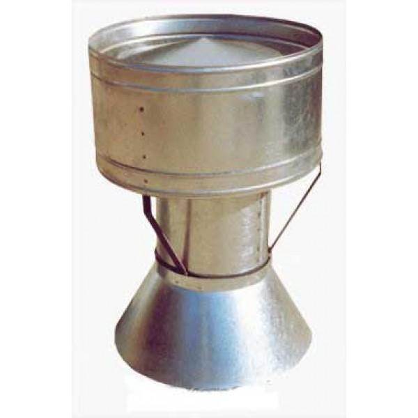 Дефлектор с фартуком ДФ - Ø 315 мм