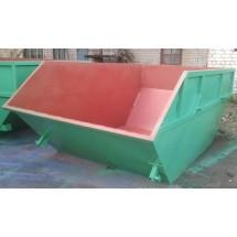 Бункер накопитель для крупногабаритных отходов (КГО) открытый