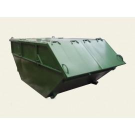 Бункер-накопитель для крупногабаритных отходов (КГО) закрытый