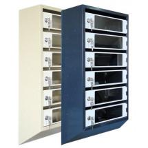 Ящик почтовый ЯПР 8 с прозрачными дверцами
