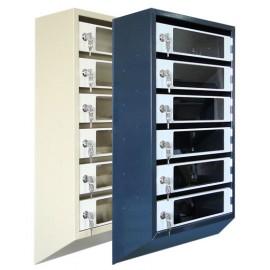 Ящик почтовый ЯПР 4 с прозрачными дверцами