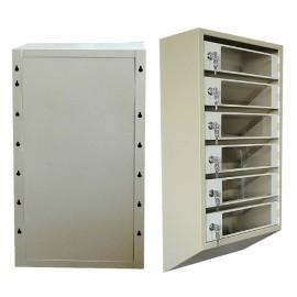 Ящик почтовый ЯПР 5 с прозрачными дверцами